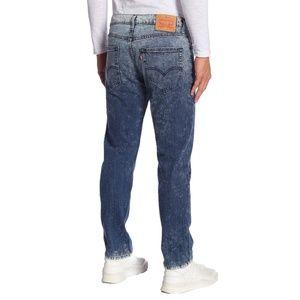 NEW Levi's Regular Taper Stretch Acid Wash Jean